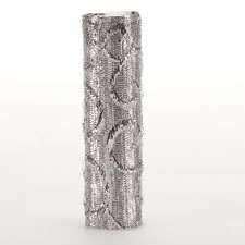 Cake Pillars - Wilton Silver Wrapped - 4 Pack (303-981)