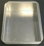 Magic Line Rectangle Aluminum Cake Pan 8X12X3 - POB8123