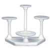 Bakery Crafts Easy Elegance 4-Tier Cake Stand