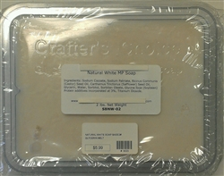 Crafter's Choice Natural White Soap Base - 2 Pounds