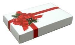 Half Pound Ribbon 'n Holly Candy Boxes