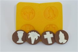 Communion Confirmation Flexible Mold