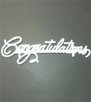 Large Congratulations Cake Imprinter