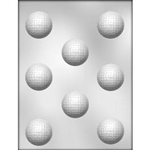 "1-5/8"" Golf Ball Chocolate Mold sport job PGA tour 90-6009 LPGA"