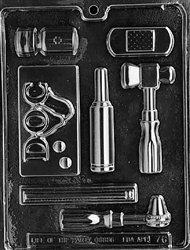 Doctor's Kit Chocolate Mold