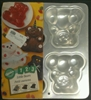1 2 3 Little Bears Aluminum Cake Pan