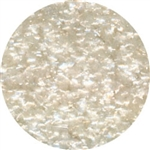 White Edible Glitter
