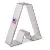 "3-1/4"" Letter A Cookie Cutter"