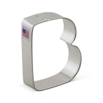 "3"" Letter B Cookie Cutter"
