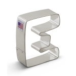 "3"" Letter E Cookie Cutter"