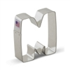 "3"" W or M Cookie Cutter"