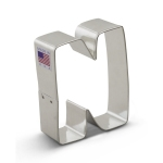 "3"" Letter N Cookie Cutter"