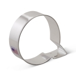 "3"" Letter Q Cookie Cutter"