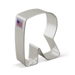 "3"" Letter R Cookie Cutter"