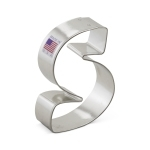 "3"" Letter S Cookie Cutter"