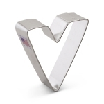 "3"" Letter V Cookie Cutter"