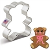 "3"" Teddy Bear Cookie Cutter baby shower child birthday"