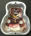 Wilton Singles! Teddy Bear Cake Pan animal child birthday