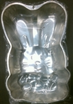 Vintage Medium Bunny with Easter Egg Cake Pan