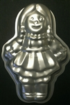 Medium Doll Aluminum Character Cake Pan