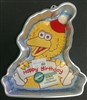Big Bird With Banner Character Cake Pan