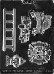 Firefighter Kit Chocolate Mold fireman