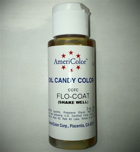 Mix AmeriColor Flo-Coat with Soft Gel Paste Colors