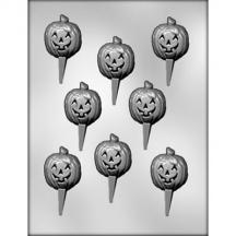 Chocopicks Jack O Lantern Chocolate Mold halloween fall autumn pumpkin P3001