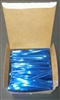 "4"" Blue Metallic Twist Ties - 2,000 Pack"