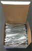 "4"" Silver Metallic Twist Ties - 2,000 Pack"