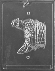 Hen in Basket Mold - Piece 2