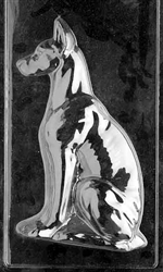 Great Dane Dog Chocolate Mold - Side 2 - LPDOG019B