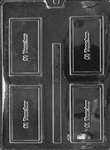 #1 Teacher Card Chocolate Mold