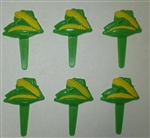Ears of Corn Cupcake Picks