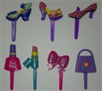 Fashionable Chic Cupcake Picks