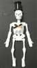 "8"" Jointed Skeleton Decoration"