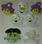 Halloween Variety Pack of Rings - 6 Pack