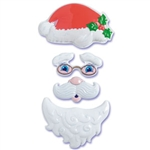 Santa Face Pop Top Set