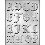 "2"" Alphabet A-P Chocolate Mold"