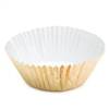 "4-1/4"" Gold Foil Baking Cups - 500 Pack"