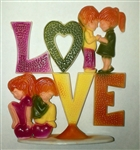 LOVE with Children Cake Topper