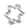 "3-1/2"" Snowflake Shaped Cookie Cutter"