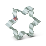 "3-1/2"" Snowflake Shaped Cookie Cutter Christmas holiday winter wedding"