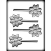 "2-3/4"" Flower Sucker Hard Candy Mold"