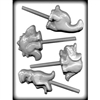 Dinosaur Sucker Hard Candy lollipop Mold animal 8H-11144