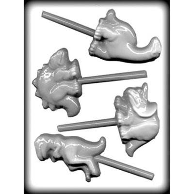 8H-11141 Dinosaur Lollipop Sucker Hard Candy Mold