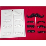 Mustache Hard Candy Mold