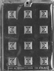 Fancy Squares Chocolate Mold