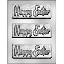 Happy Easter Bar Chocolate Mold