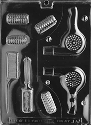 Beautician Kit Chocolate Mold
